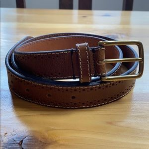 Fossil men's dress belt leather 95 / 38